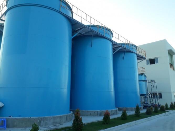 Thi công hệ thống xử lý nước thải công nghiệp, cho công ty Hyosung Việt nam, tại khu công nghiệp Tam thăng .