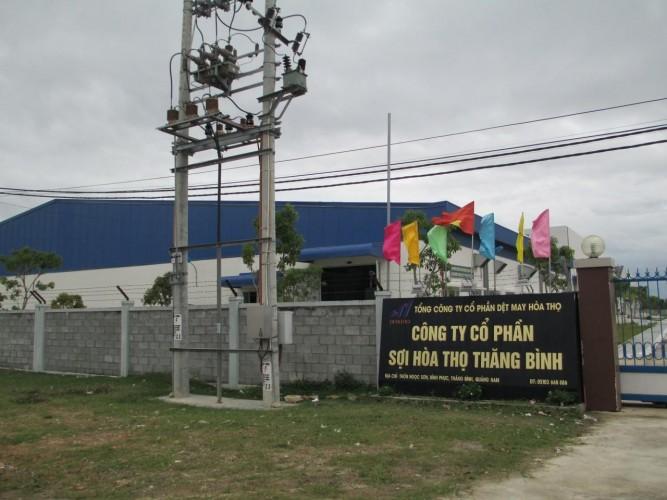 Nhà máy sợi Hòa Thọ - Thăng Bình (Quảng Nam)