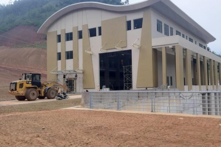 Thi công các hạng mục cơ khí, cho công trình thủy điện Đakrong 4 - Huyện Đakrong - Quảng trị