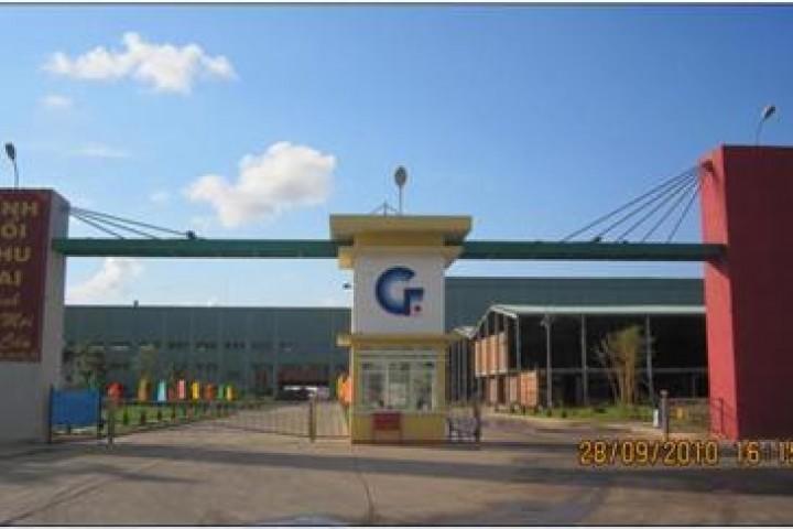 Nhà máy kính nỗi Chu Lai (Khu kinh tế mở Chu Lai, Núi Thành, Quảng Nam)