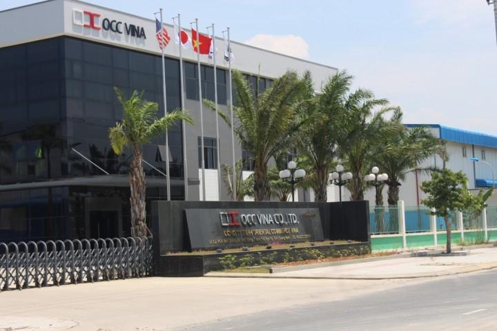 Nhà máy OCC VINA (KCN Tam Thăng, Tam Kỳ, Quảng Nam)
