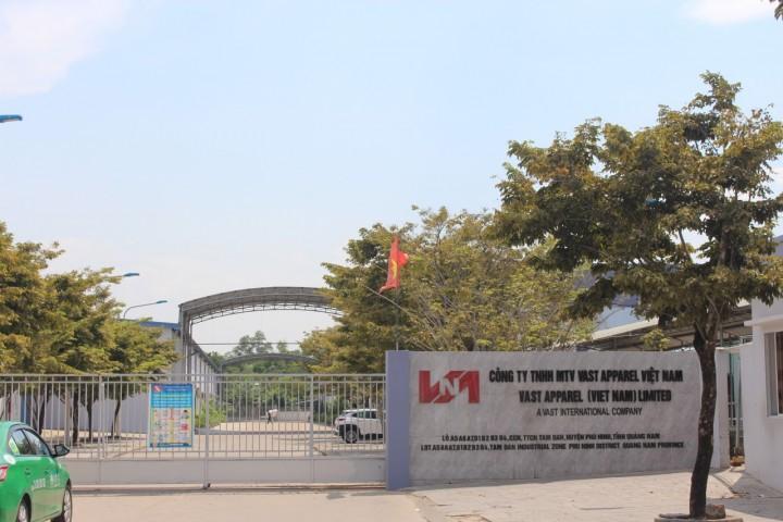 Nhà máy VAST APPAREL (Cụm CN Tam Đàn, Phú Ninh, Quảng Nam)